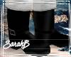!SB Naughty Santa Boots