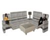 Lady's Reclining Sofa