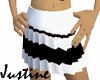 Black n white skirt