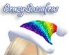 Sparkle Santa - Rainbow!