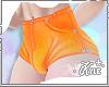 FMB Orange Jean Shorts