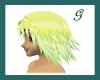 lemon/lime yuna hair