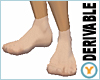 Derivable Smooth Feet