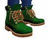 Green Work Boots (M)