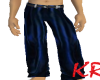 *KR-Mens Tux Blue Pants