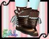 Choco Mint Boots