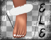 [Ele]XMAS Fur AnkleCuffs