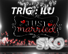 *SK*Just Married Sign1