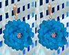 FG~ Flora Earrings Blue