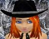 Midnight Cowgirl Hat FL1
