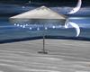 WHITE Beach Umbrella