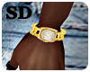 SDl Gold Clock