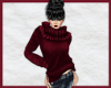 Warm Sweater, Cranberry