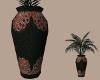 Ruby Jeweled Vase