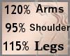 Scale Arms Shoulders Leg
