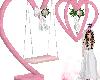 wedding heart swing