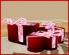 Valentines pose gift box