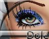 <Dole>GlitterLashesBlue