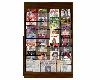 Retro Magazines Rack