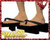 WF>Black and blue Geta