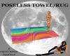 *CM*POSELESS TOWEL/RUG