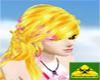 Blonde Long pink