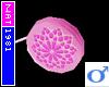 (Nat) Pink Flower YoYo