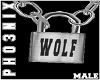 !PX WOLF LOCK NECKLACE