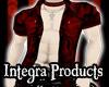 Red Dragon Open Shirt