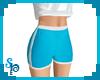 [S] Sport Shorts Blue