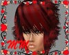 Red Edgy Bob
