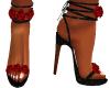 Red Rose Heels