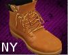 [NY] Stem Wheat Boots