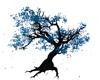Animated Blue Tree