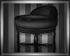 Blackout Dressing Stool