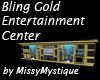 Myst Gold Aquarium Unit