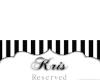 Kris's Place Card