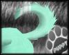 [Pup] Cyan Puppy Tail