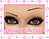 ! One Eye Brow Up Action