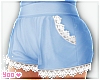 blue kawaii shorts