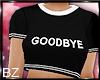 [bz] Goodbye Tee - Black
