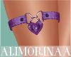 *A* Purple R-Thigh Band