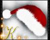 Red Fur Santa Hat