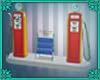 (IS) Vintage Gas Station