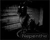 Dark Capricorn Statue
