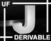 UF Derivable Letter J