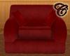 Red Velvet Madrid Chair