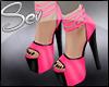 *S Candy Heels