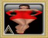 (AL)Shuz Dress Red XL