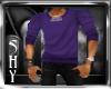 Male Sweater Purple